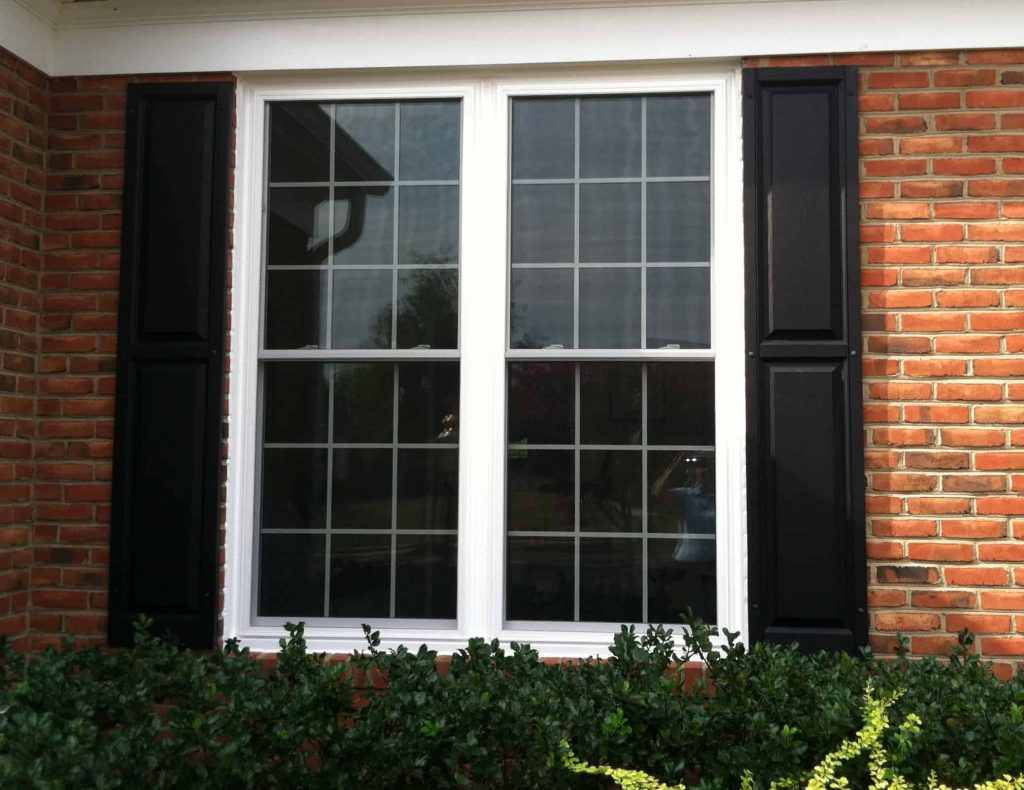 Clean window in a house