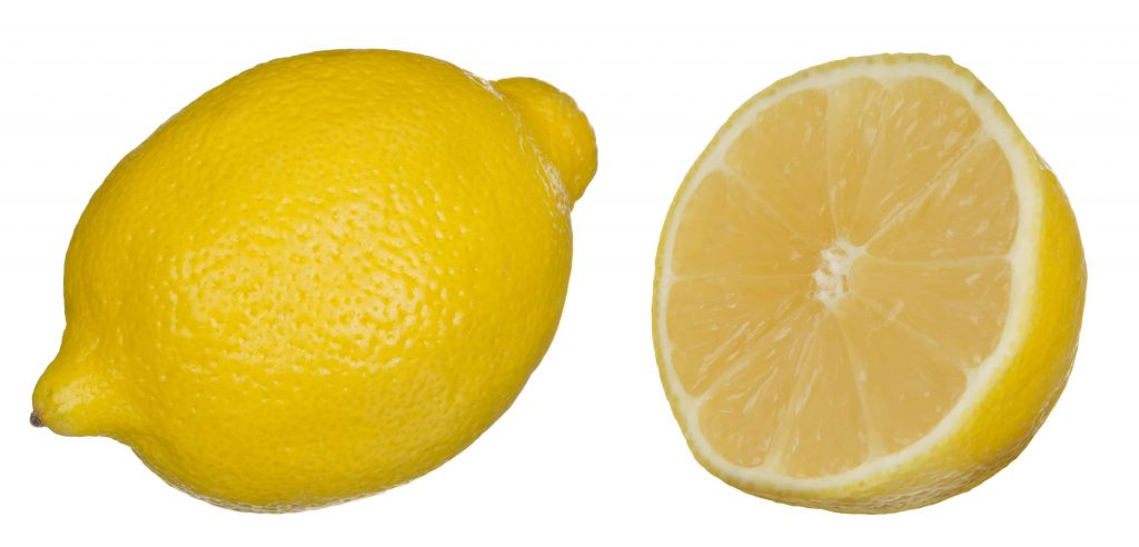 Picture of lemons for air fresheners